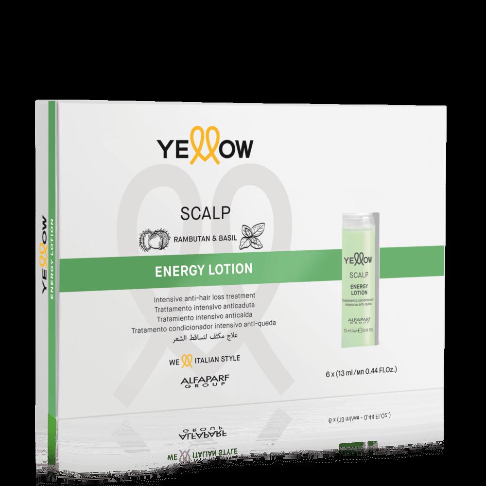 Yellow Scalp Energy Lotion hajhullásra